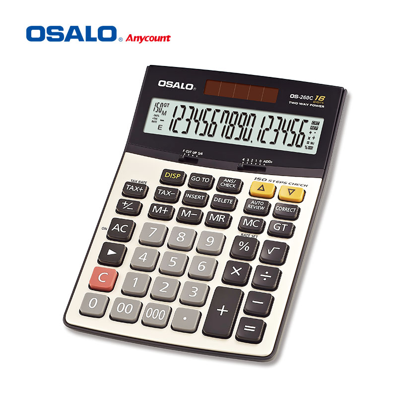 New arrival 16 digits check correct tax calculator
