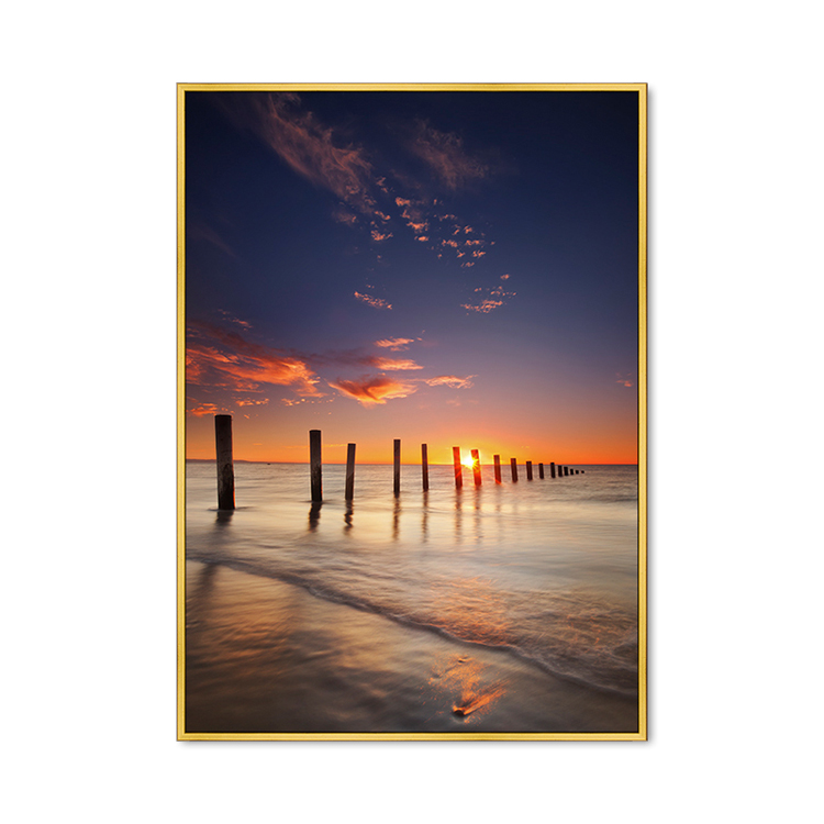 Seascape Canvas Print Modern Wall Art Living Room Decoration