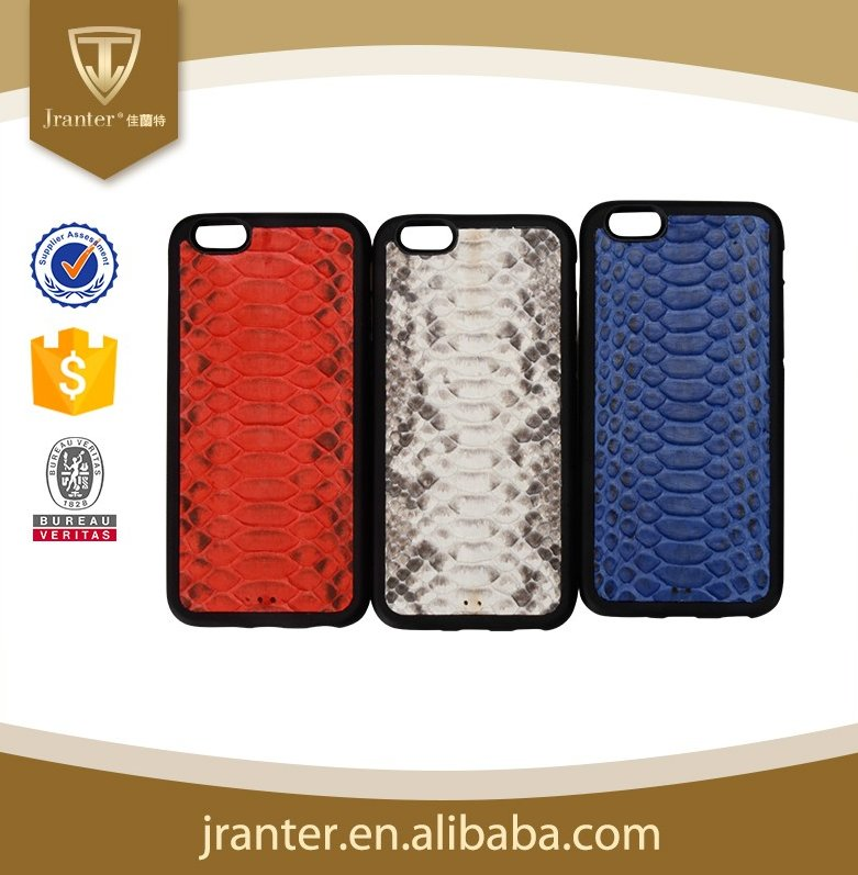 Beautiful Mobile Phone Back Cover Python Leather TPU Case for iPhone 7 plus Phone Case, for iPhone7 Case