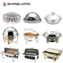 Professional Hotel Chafing Dish Catering Material Steel Buffet Set Equipment Food Warmers For Sale In Guangzhou