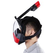 full face breathing diving mask snorkel
