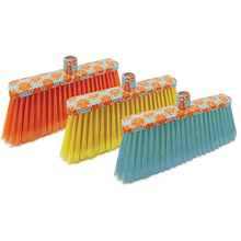 Factory wholesale plastic printing indoor sweeping floor broom