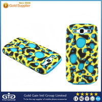 [GGIT]3D Design Mobile Phone TPU Case for Samsung S3 I9300, TPU + PC Case for S3