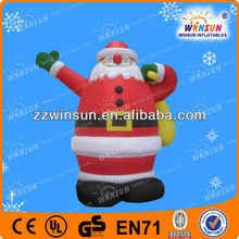Attractive christmas holiday inflatables,santas