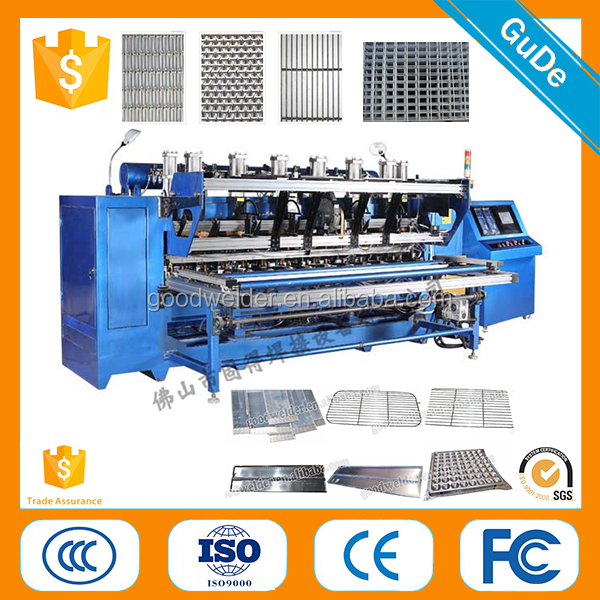 2017 China supplier DNW Series Stockade Fence Wire Mesh Spot Welding Machine