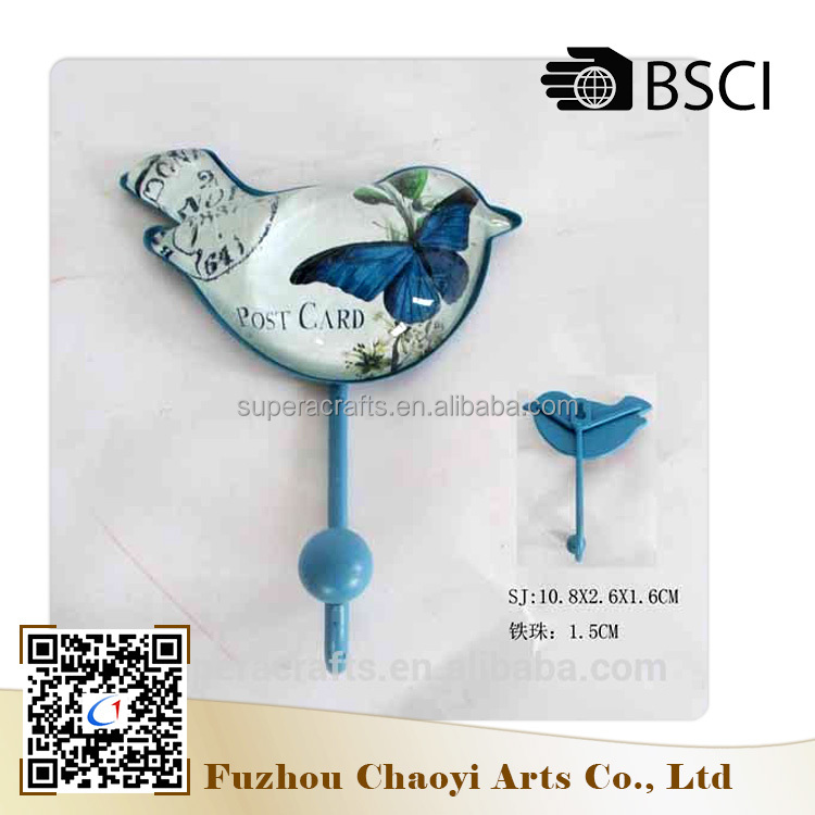 2017 Top sales New Design low price and high quality crystal wall hook