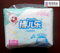 cloth like baby friends training pants factory with higher super absorbent polymer