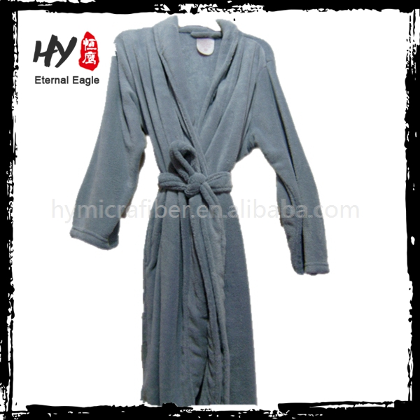 Hot selling adults printed hotel bath robe with low price