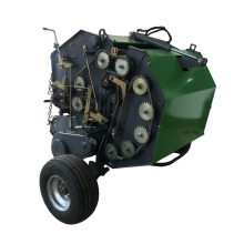 Grass bundling machine rice straw round hay baler