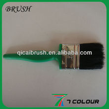 cheap 2 inch plastic handle bristle paint brush