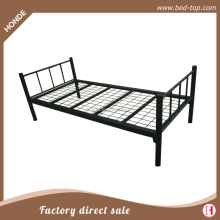 Heavy Duty Steel Angel Military Metal Single Bed