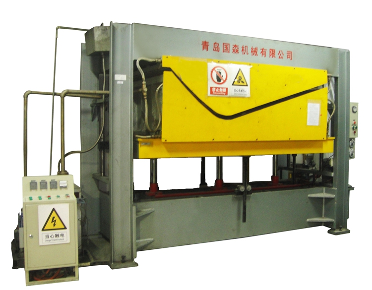 aluminium honeycomb panel press machine
