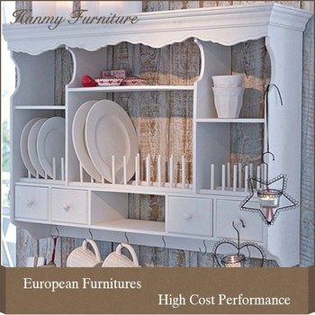 Kitchen cabinet wall unit white - A001