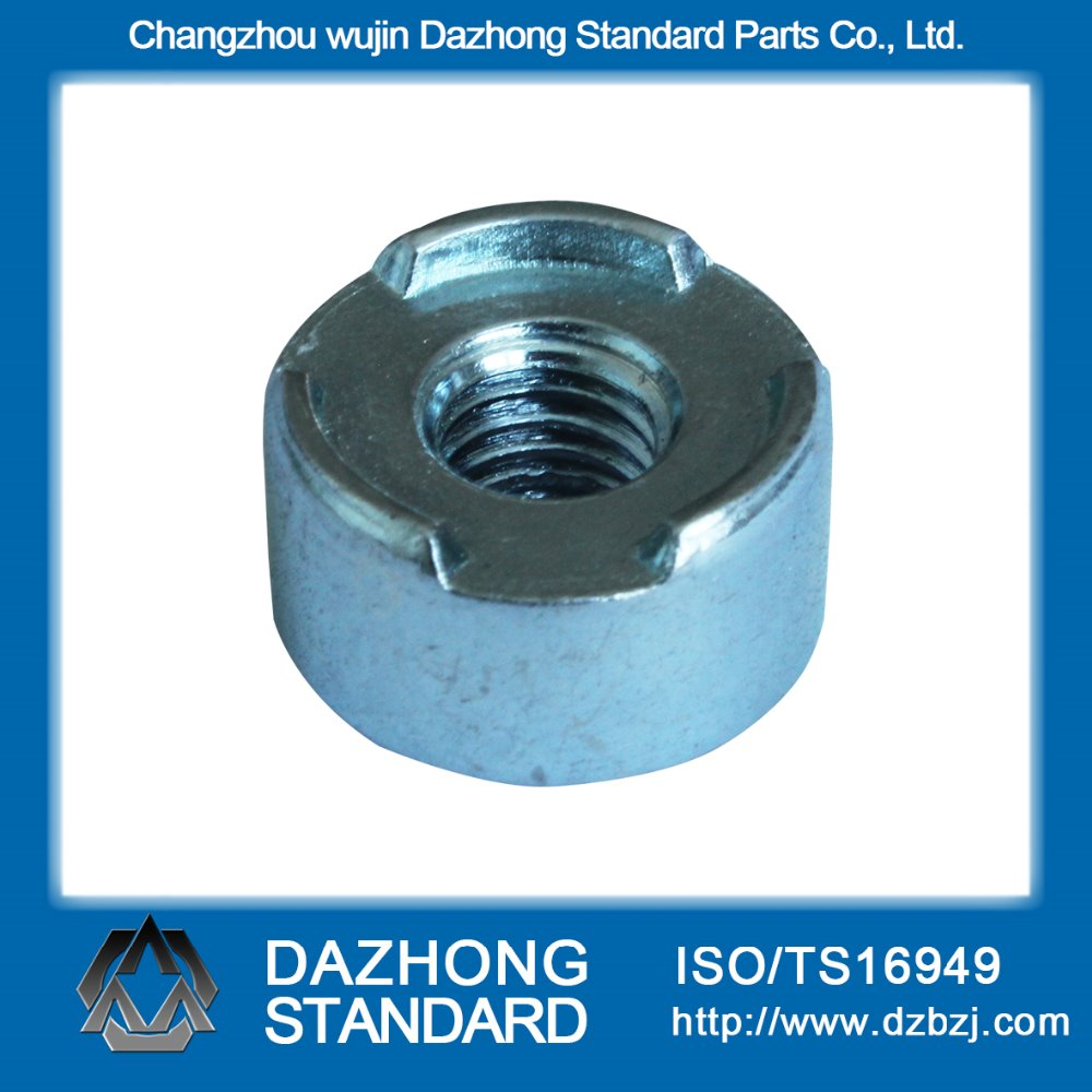 Hot sale automotive industry Carbon Steel Round M8 Weld Nut