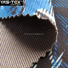 Hot Sale Fabric Windproof Printing Stretch Polyester Jacquard Weave Fabric For Clothing