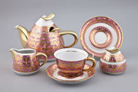 KELT Collection Tea Set with decor Alexandria
