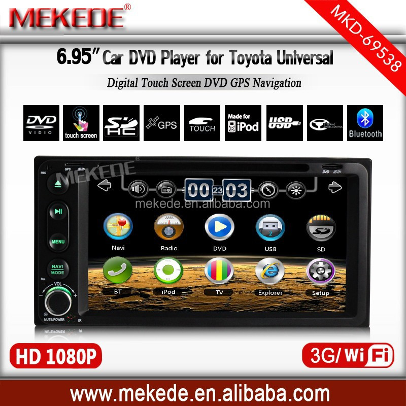 3g host+wifi+Car DVD For Old Toyota RAV4 Corolla Previa Vios Hilux Prado Terios car radio for toyota universal