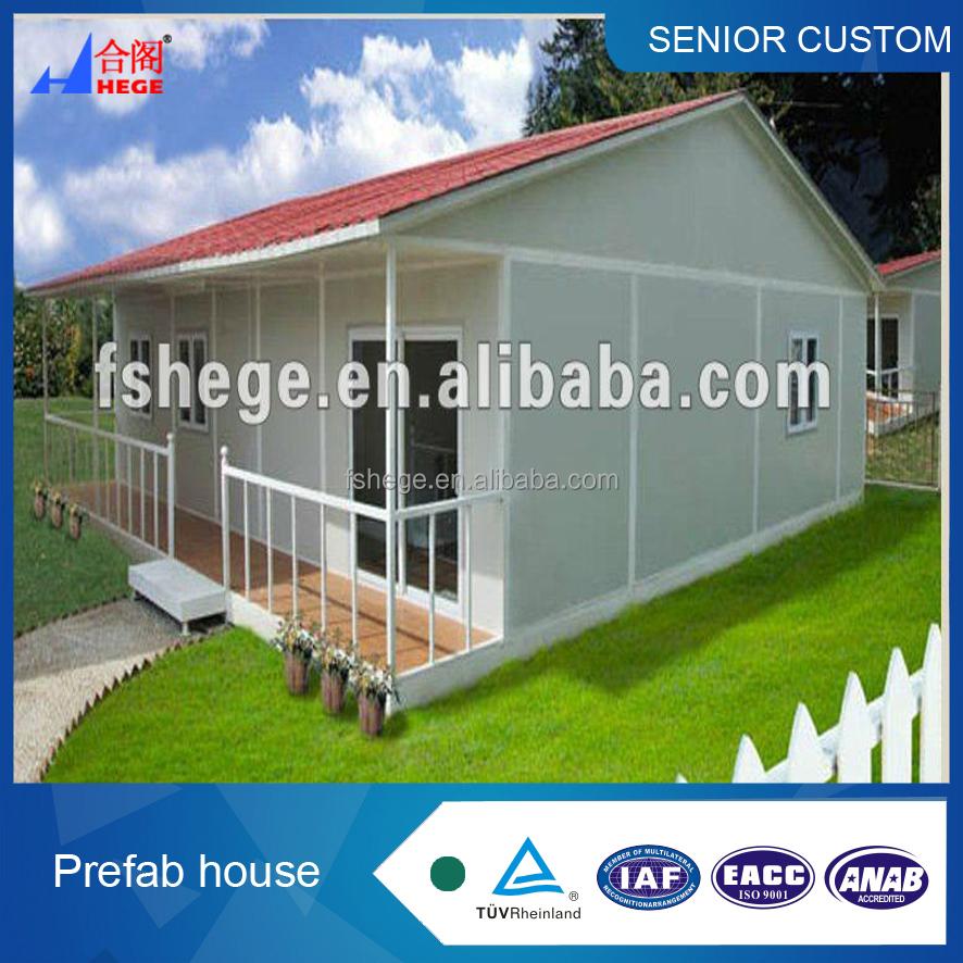 Panel s ndwich casa prefabricada estructura de acero - Casas panel sandwich ...