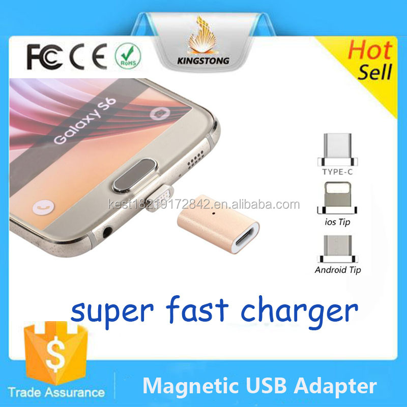 Factory 11 Pin To 5 Pin Micro USB Magnetic Adapter For Android phone