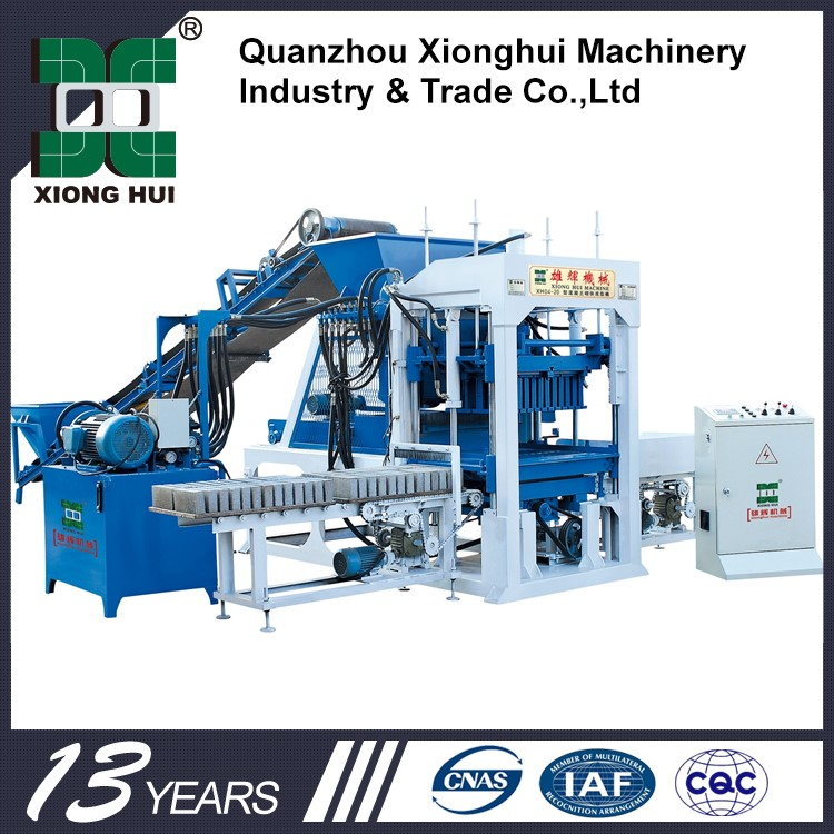 XH03-20 Maquinaria De Ladrillo Price In India Brick Block Machine