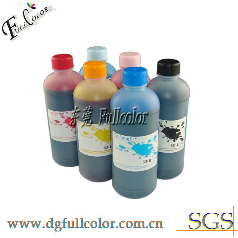 water based dye ink for epson 7500 printer ink