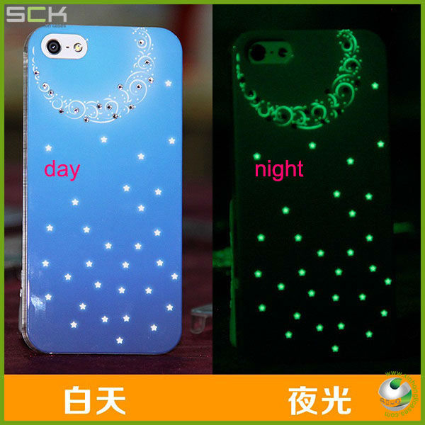 hot selling light up 3d phone case for ipone 5 accessories