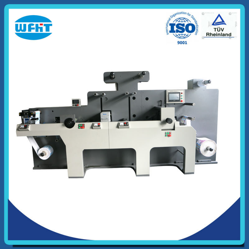 NEW BEST QUALITY laser automatic label paper die cutting machine manufacturer HT 350