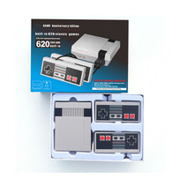 Wholesale retro game console entainment system Common Handheld family TV video mini game console with 620 games