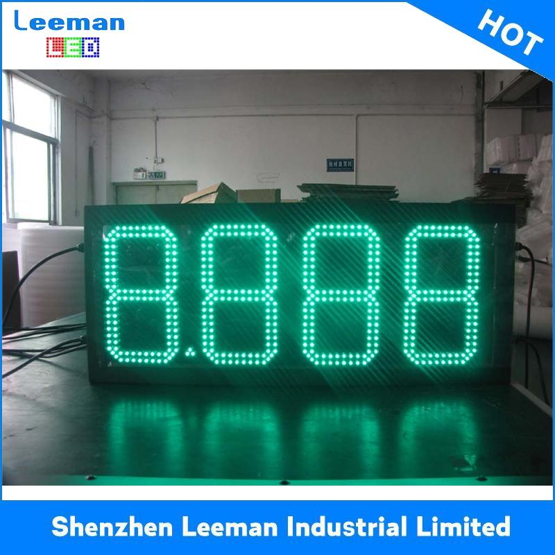 sign/led oil display 2012 fashion ph10 led gas price digital sign square picture frame
