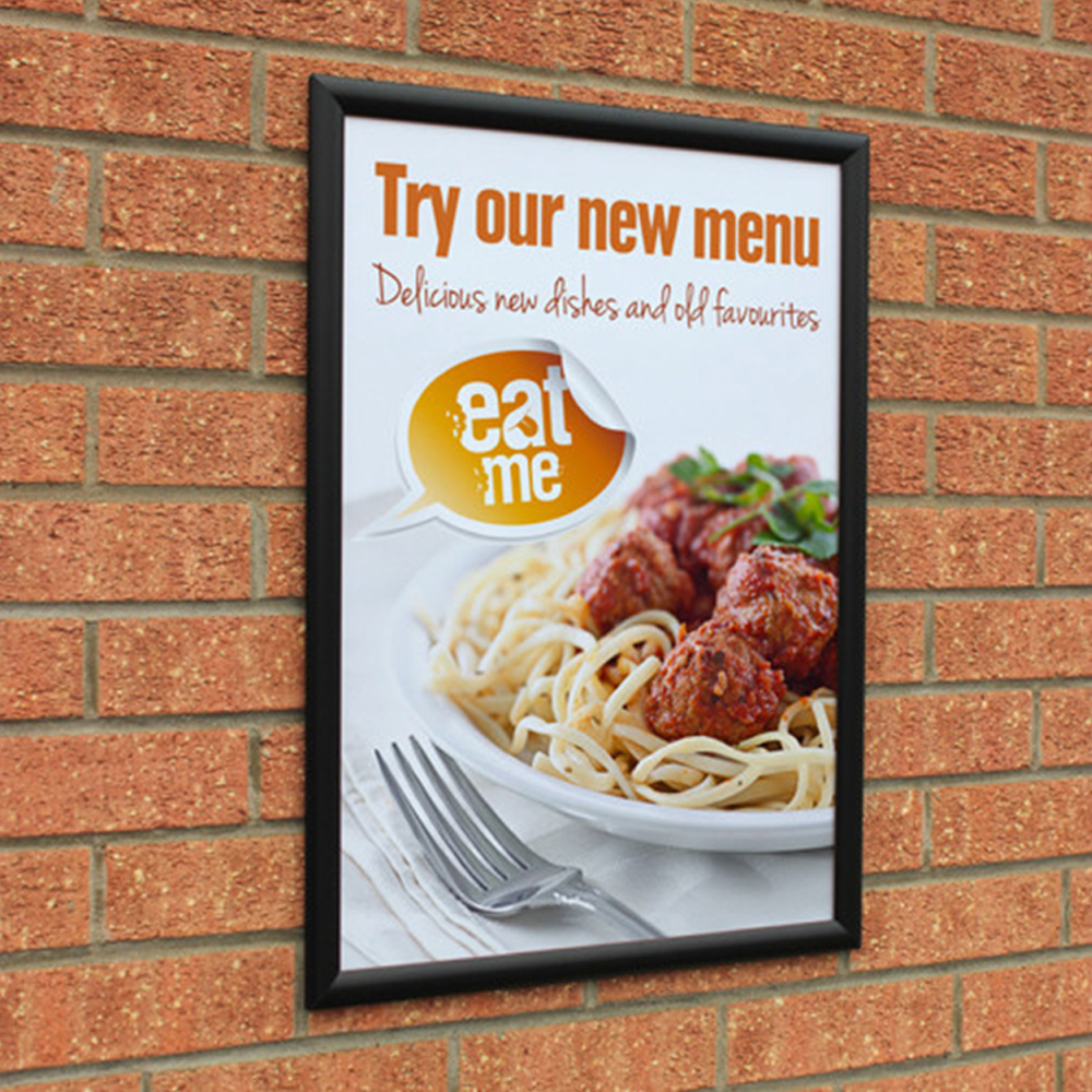 Advertising Display Aluminum Snap Frames