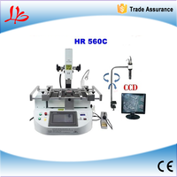 Factory sale!!Hot air bga reballing station HR560C upgrade from HR560 ,3 in 1 with bga reballing machine