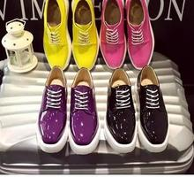Nice design women western PU shoes ladies new fashion square toes footwear