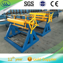 Long Life Span 5 ton Manual Decoiler , Coiled Material Decoiling Machine , Uncoiler Machine