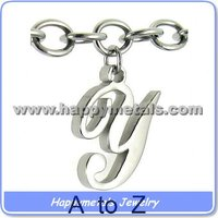 Fashion pendant alphabets designs