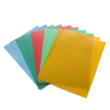 transparent color PVC / PP / PET plastic sheet