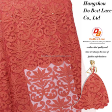Do best lace brand coral lace fabric dubai designer lace for evening dress