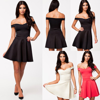 Sexy bandage clubwear Wholesale Sexy Backless Dress off shoulder dress Big Swing Night Clubwear Dress ZT003493 instyles facto