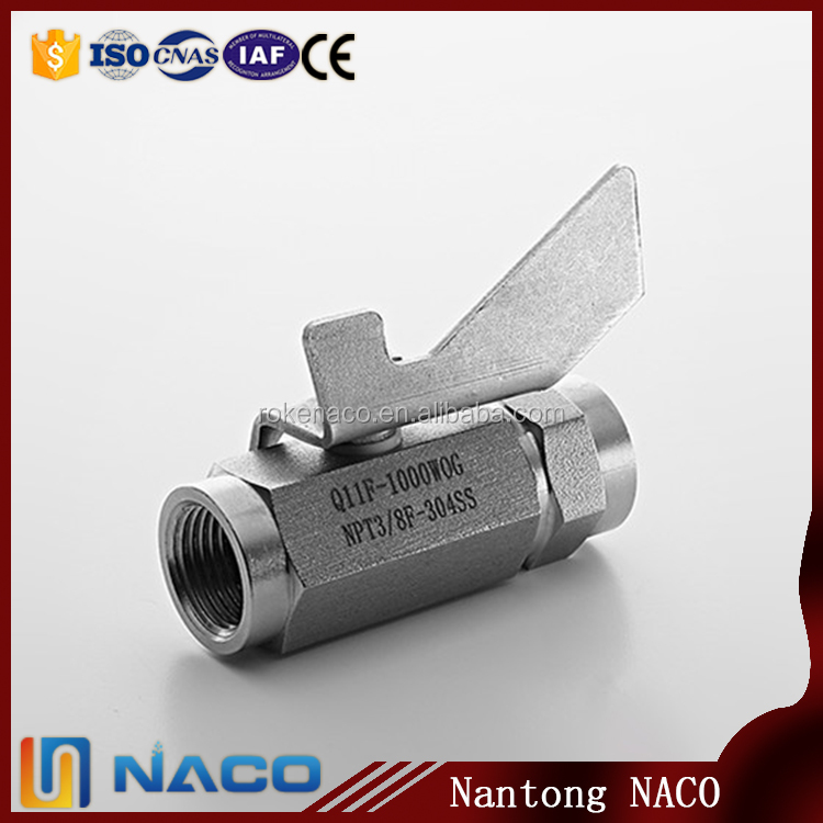 China Manufacturer Of Hex Bar Stock 3 Way Ball Valve With Long Handle