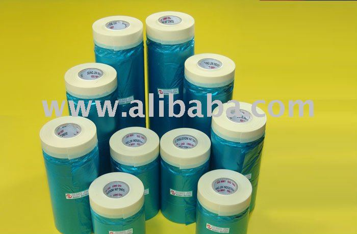 The coup masker tape for car _ crepe paper covering tape for car