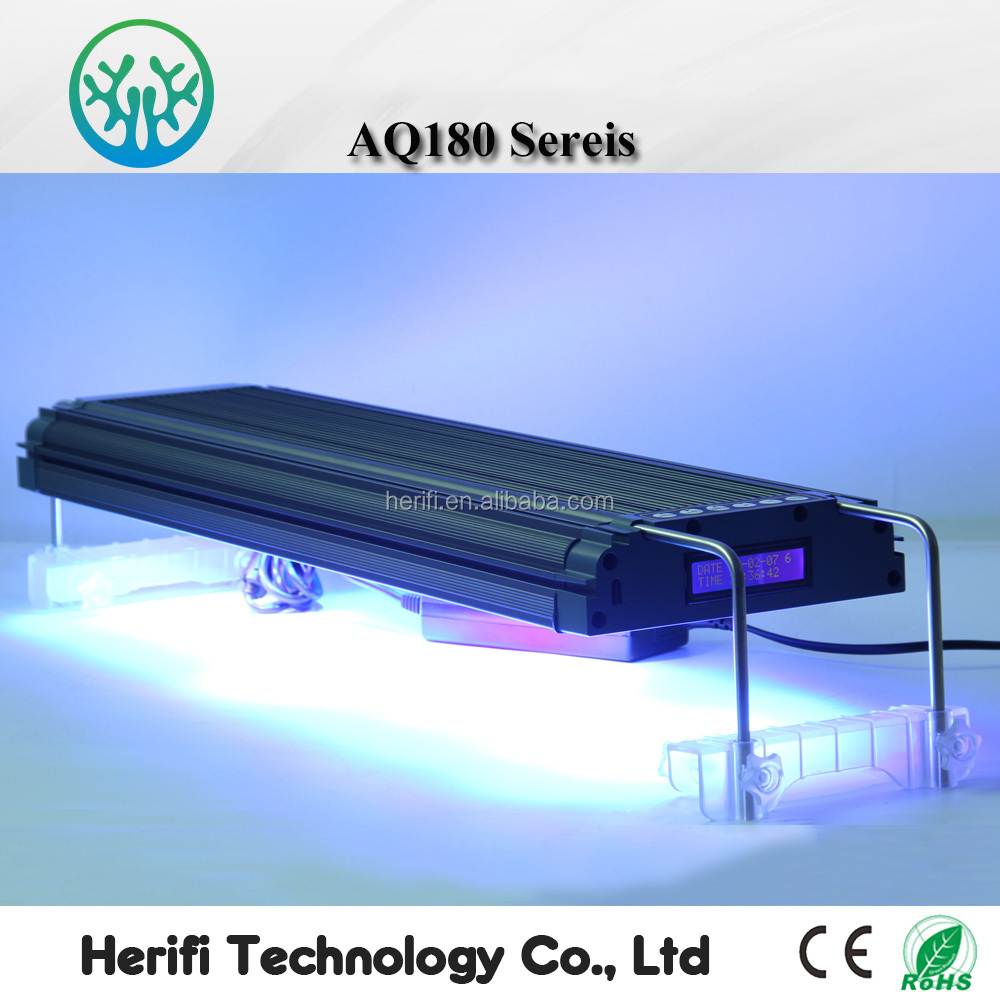 Herifi Sunrise Sunset Simulation 100cm LED Aquarium Light for Fish Tank