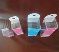 Fashion New design printing clear PVC plastic box for packing