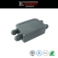 ABS plastic waterproof enclosure with cable gland