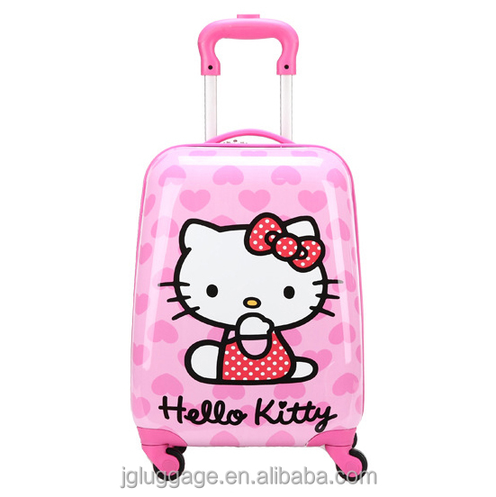 ABS+PC polycarbonate kids cute luggage bag child suitcase