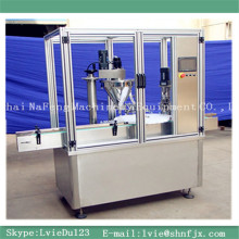 NFFGX-50 series Automatic small dose powder filling machine and powder in capping machine