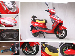 800w Excellent Quality Rechargeable Electric Motorcycle /2 wheel electric scooter /ebike factory in China