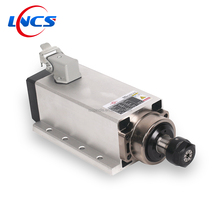 2.2KW cnc router aluminum spindle motor air cooled electric spindle motor withmounting base