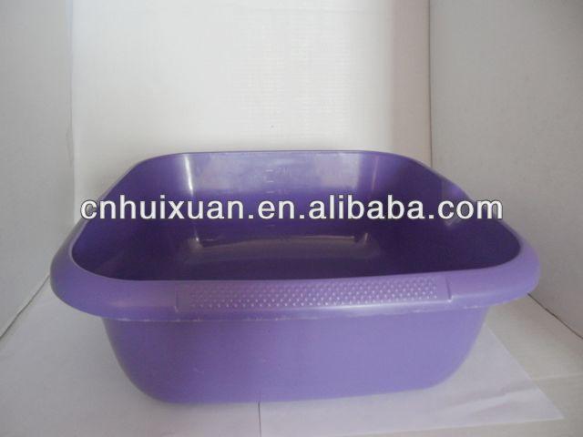 Grande et l gante carr en plastique bassin lavabo de for Grande bassine plastique bain
