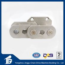 Precision power multiplex transmission roller chain with pads