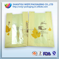 FDA Safety grade wholesale paper bakery bread bags with logo