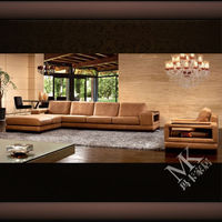 High quality sectional sofas HD-89, luxury corner sofa set